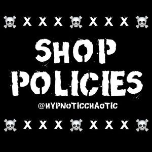 🖤 SHOP POLICIES 🖤 PLEASE READ BEFORE BUYING! 🖤